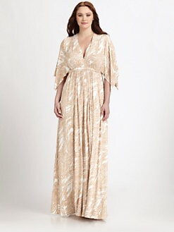 Rachel Pally, Salon Z - Printed Long Caftan Dress
