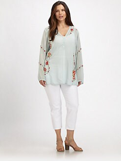 Johnny Was, Salon Z - Rosebud Blouse