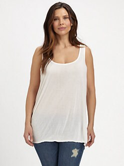 Johnny Was, Salon Z - Jersey  Scoop Tank Top