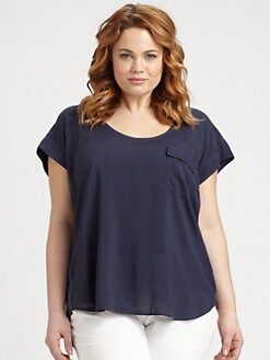Splendid, Salon Z - Pocket Tee