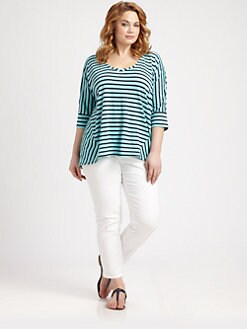 Splendid, Salon Z - Miami-Stripe Tee
