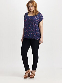 Splendid, Salon Z - Floral Print Top