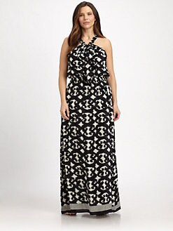 Tolani, Salon Z - Shelly Silk Maxi Dress