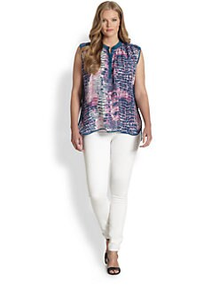 Tolani, Salon Z - Silk Renee Blouse