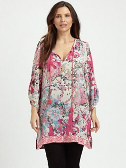 Tolani, Salon Z - Sarah Silk Tunic
