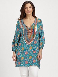 Tolani, Salon Z - Sasha Silk Tunic