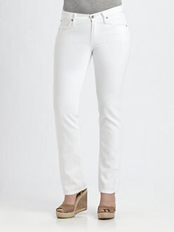 James Jeans, Salon Z - High-Rise Straight-Leg Jeans