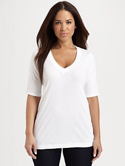 Splendid, Salon Z - Pima Cotton/ Modal Tee