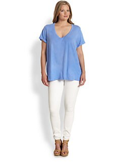 Splendid, Salon Z - Supima Cotton Whisper Tee