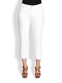 James Jeans, Salon Z - Carrie-Z Cropped Jeans