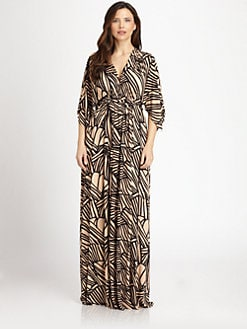 Rachel Pally, Salon Z - Black Ray Caftan Dress