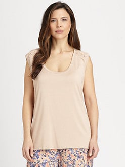 Rachel Pally, Salon Z - Alix Button-Trimmed Top