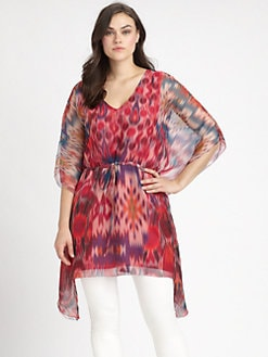 Sheri Bodell, Salon Z - Indian Summer Ikat Caftan