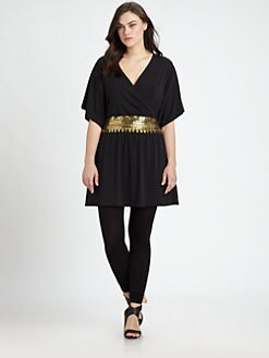 Sheri Bodell, Salon Z - Disco Kimono Tunic/Dress