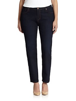 James Jeans, Salon Z - Stretch-Cotton Denim Leggings