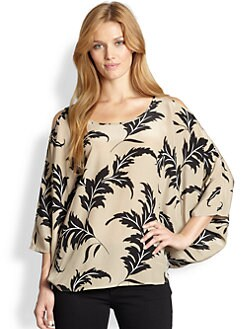 Sheri Bodell, Salon Z - Silk Highlands Blouse