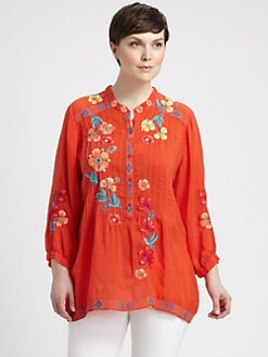 Johnny Was, Salon Z - Marla Tunic