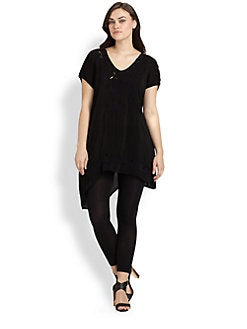 Johnny Was, Salon Z - Quintessa Embroidered Tunic
