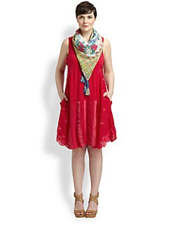 Johnny Was, Salon Z - Patchwork Pocket Dress
