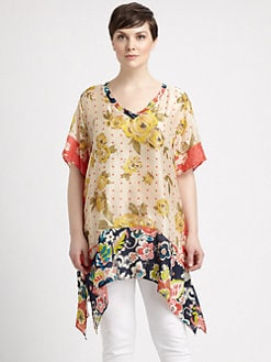 Johnny Was, Salon Z - Silk Adisa Tunic