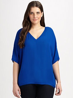Single, Salon Z - Silk Pullover Top