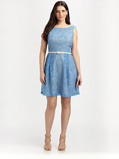 Single, Salon Z - Lace A-Line Dress