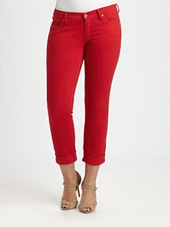 James Jeans, Salon Z - Red Boyfriend Jeans