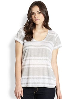 Splendid, Salon Z - Grecian-Stripe Tee