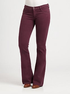 James Jeans, Salon Z - High-Rise Flared Jeans