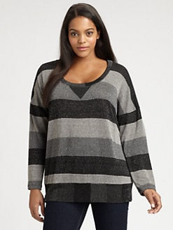 Splendid, Salon Z - Striped Pullover Top