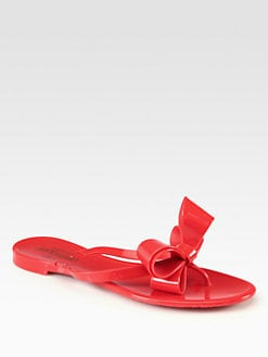 Valentino - Bow Thong Sandals