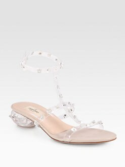Valentino - Naked Rockstud Sandals