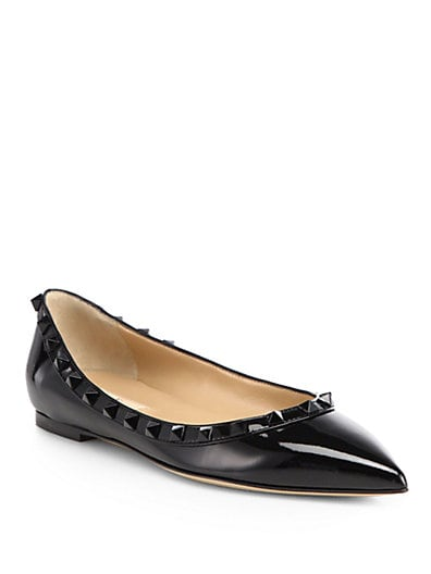 Punkouture Patent Leather Ballet Flats