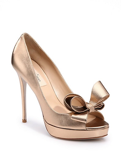 Couture Bow Pumps