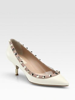 Valentino - Studded Leather Pumps