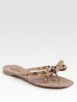 Valentino - Rockstud Jelly Sandals