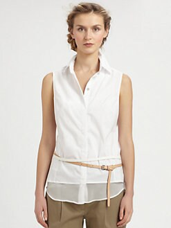 9|15 - Sleeveless Poplin Blouse
