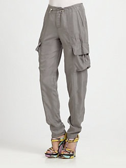 9|15 - Washed Silk Cargo Pants
