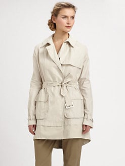 9|15 - Split-Hem Trenchcoat
