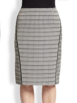 Lafayette 148 New York, Sizes 14-24 - Art Deco Jacquard Ariella Skirt