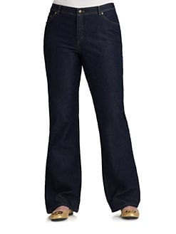 Lafayette 148 New York, Salon Z - Five-Pocket Jeans