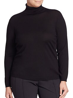 Lafayette 148 New York, Salon Z - Merino Wool Turtleneck
