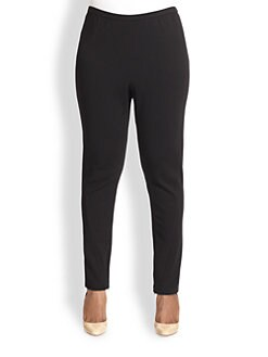 Lafayette 148 New York, Salon Z - Contoured Slim Pants