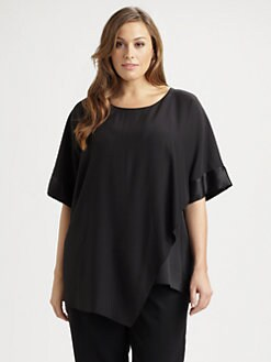 Lafayette 148 New York, Salon Z - Silk Raquel Top