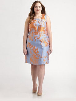 Lafayette 148 New York, Salon Z - Jacquard Elle Dress