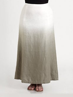 Lafayette 148 New York, Salon Z - Linen Hailey Maxi Skirt