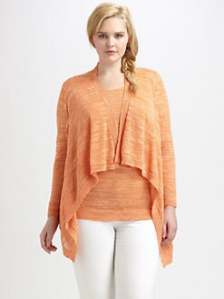 Lafayette 148 New York, Salon Z - Hi-Lo Cardigan