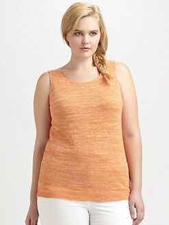 Lafayette 148 New York, Salon Z - Long Tank Top
