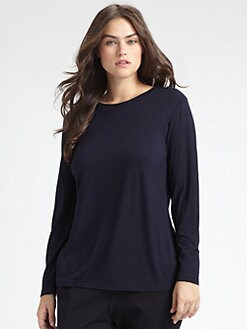 Lafayette 148 New York, Salon Z - Long Sleeved Tee