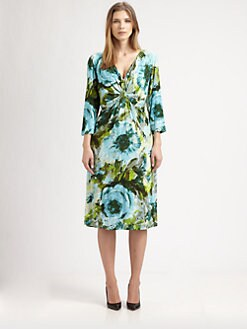 Lafayette 148 New York, Salon Z - Printed Sheath Dress